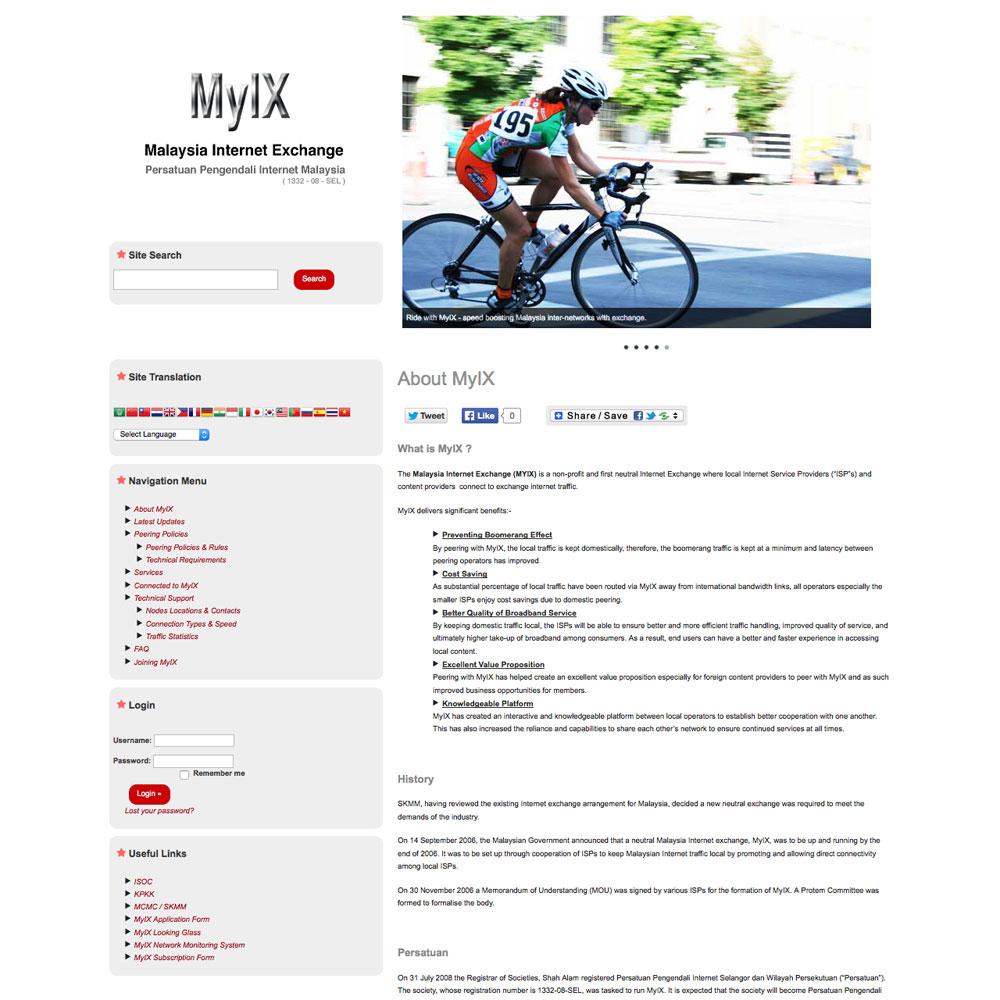 Malaysia Internet Exchange (MyIX)
